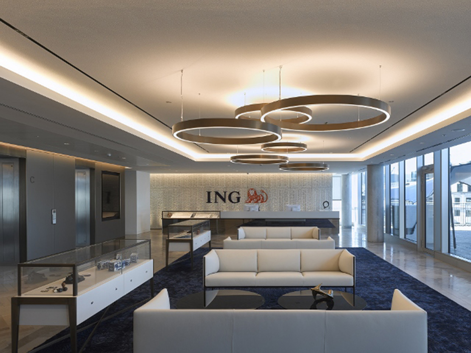 Cundall Designs Building Services At New Ing Uk Office