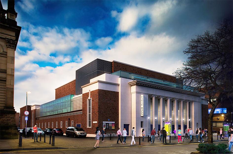 Shaylor Start 163 14m Civic Hall Refurb Refurb Projects